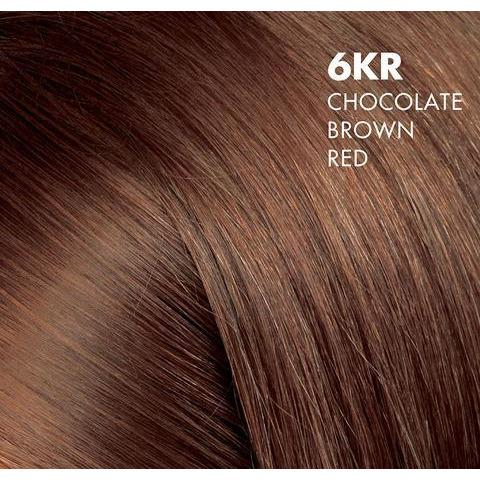 6KR Chocolate Brown Red